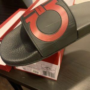 Salvatore Ferragamo Shoes - Men's Ferragamo Slides